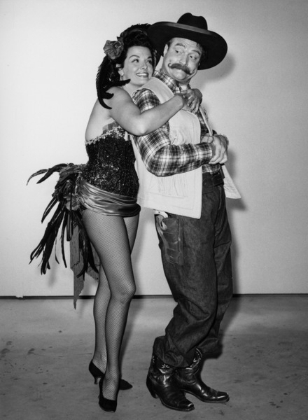 """""""The Red Skelton Show""""Red Skelton, Jane Russell1953Photo by Gabi Rona - Image 0081_2024"""