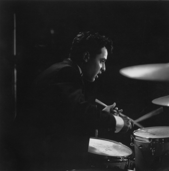 """Sal Mineo on the set of """"The Gene Krupa Story""""1959 Columbia Pictures © 1978 Sid Avery - Image 0083_0216"""