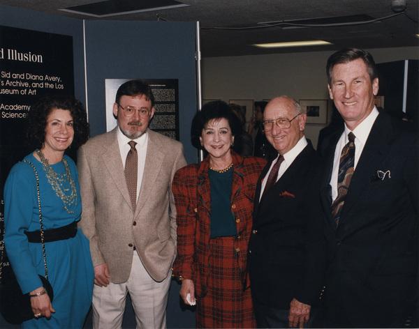 Linda Mehr, Robert Cushman, Diana Avery, Sid Avery, Robert Rehmecirca 1995Photo by Long Photo - Image 0090_1071