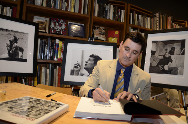 "Ron Avery at a book signing for ""Sid Avery: The Art of the Hollywood Snapshot"" 12-15-2012 / Arcana: Books on the Arts / Culver City, CA © 2012 Andrew Howick - Image 0090_1093"