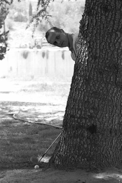Bob Newhart golfing1961© 1978 Sid Avery - Image 0092_0088