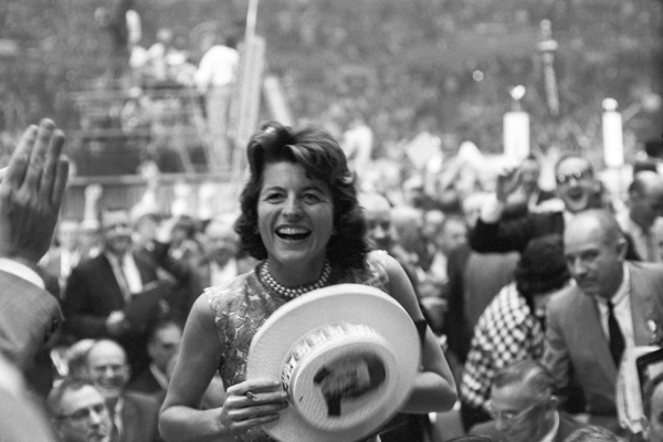 Democratic National Convention / Los Angeles, CA / Patricia Kennedy Lawford1960 © 1978 Bernie Abramson - Image 0135_0033