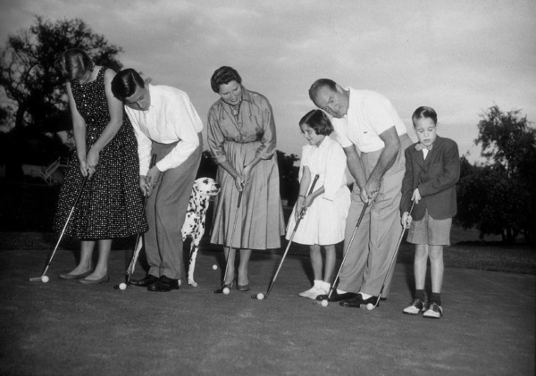 Bob Hope with wife Dolores and children1955 - Image 0173_0437