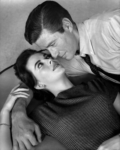 "Natalie Wood and Efrem Zimbalist Jr. in ""Bombers B-52""1957 Warner BrothersPhoto by Bert Six** B.D.M. - Image 0286_0774"