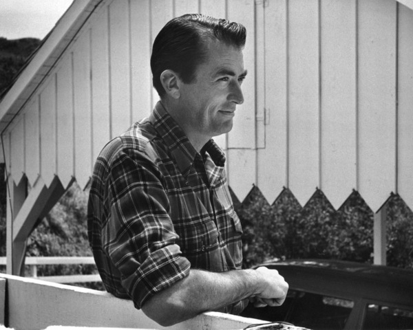 Gregory Peck at home, 1955 © 1978 Sid Avery - Image 0288_0212