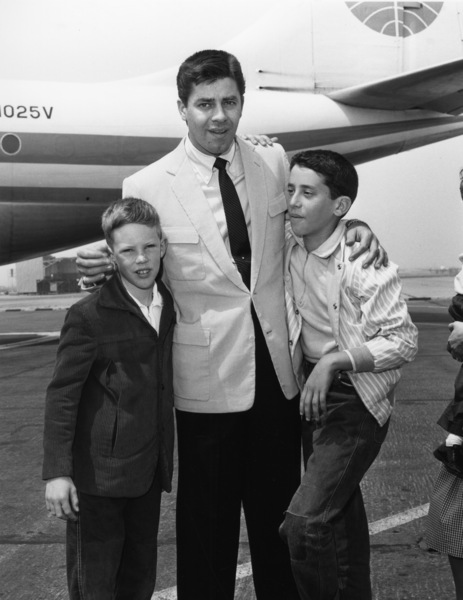 Jerry Lewis and son, Gary Lewiscirca 1956Photo by Bert Mittleman - Image 0292_0471