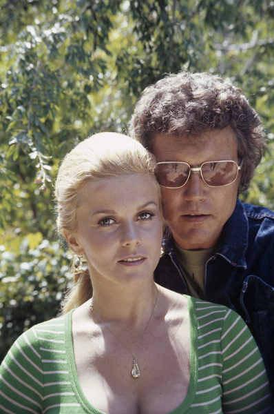 Ann-Margret, husband Roger Smith at home1972© 1978 David Sutton - Image 0332_0061