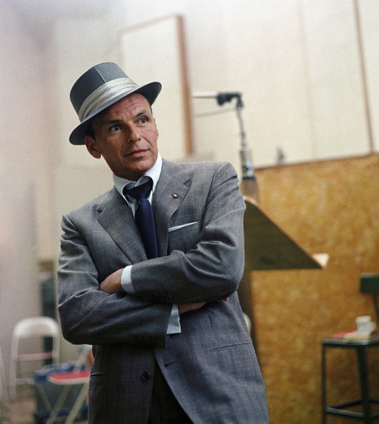 Frank Sinatra at a Capitol Records recording session in Los Angeles1954© 1978 Sid Avery - Image 0337_0507