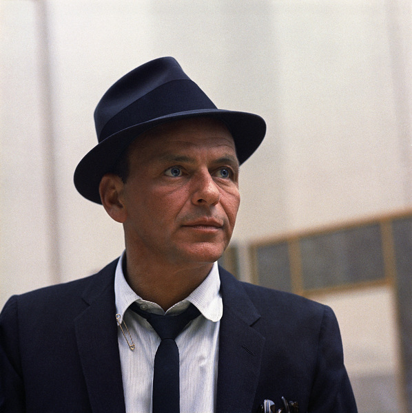 Frank Sinatra at a Capitol Records recording session in Los Angeles1954© 1978 Sid Avery - Image 0337_0508