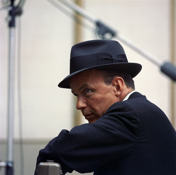 Frank Sinatra at a Capitol Records recording session in Los Angeles1954© 1978 Sid Avery - Image 0337_0509