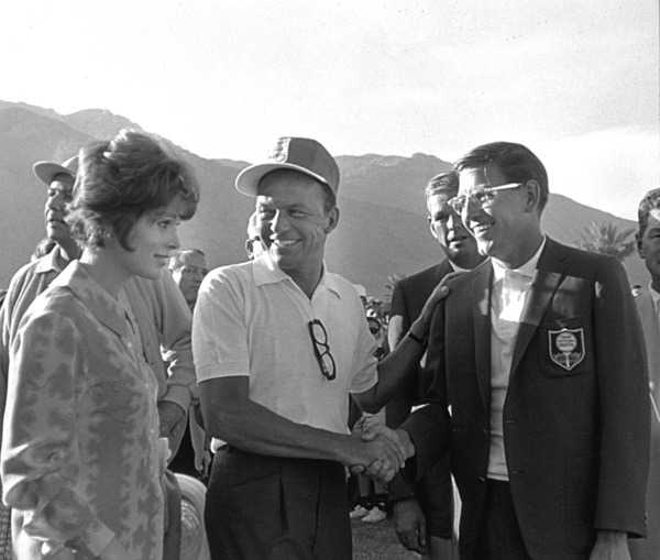 Frank Sinatra and Jill St. JohnPalm Springs, 1964 © 1978 David Sutton - Image 0337_0611
