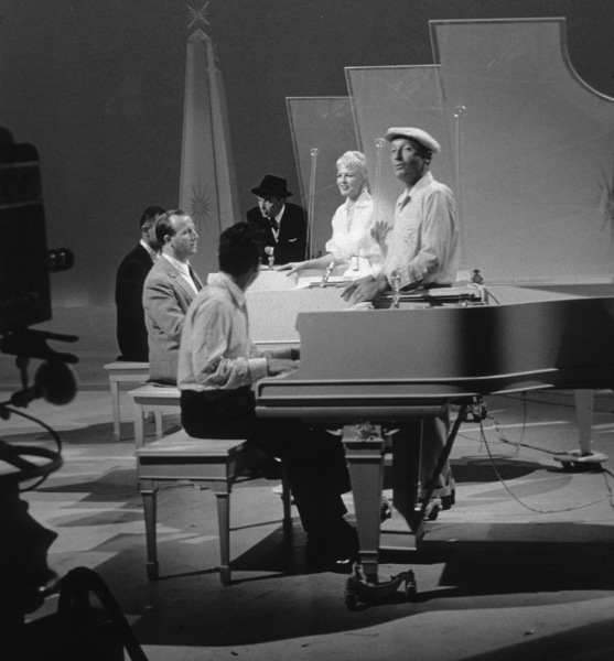 Frank Sinatra, Peggy Lee & Bing Crosby on an ABC TV Special, 1959 © 1978 Sid Avery - Image 0337_0732