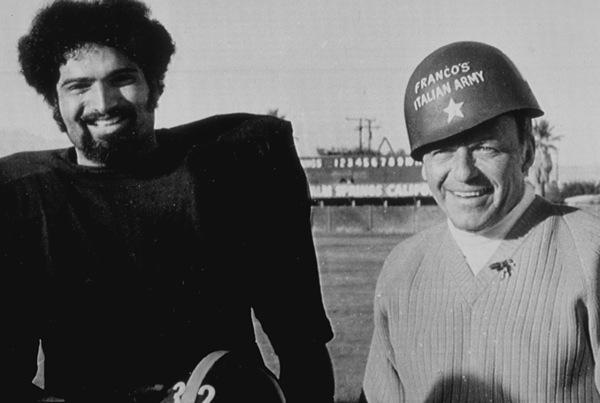 Frank Sinatra with Franco Harris1972 - Image 0337_0749