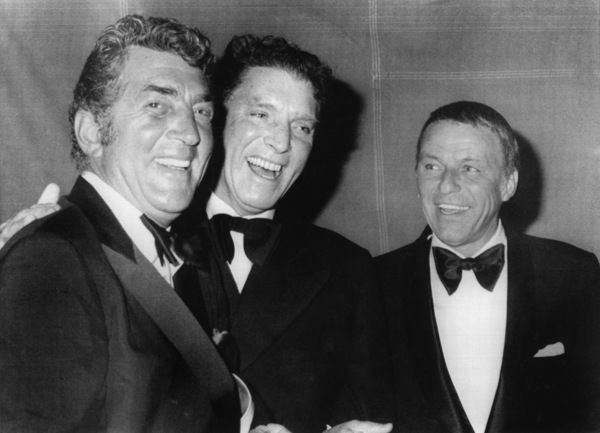 Dean Martin, Burt Lancaster, and Frank Sinatra at an ACLU fund-raising dinnerNovember 1970 - Image 0337_0757
