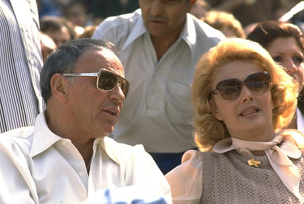 Frank Sinatra and wife Barbara Marx © 1978 Gunther - Image 0337_1162