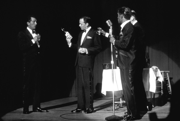 Frank Sinatra, Dean Martin, Sammy Davis Jr. and Milton Berle / c. 1964 © 1978 David Sutton - Image 0337_1260