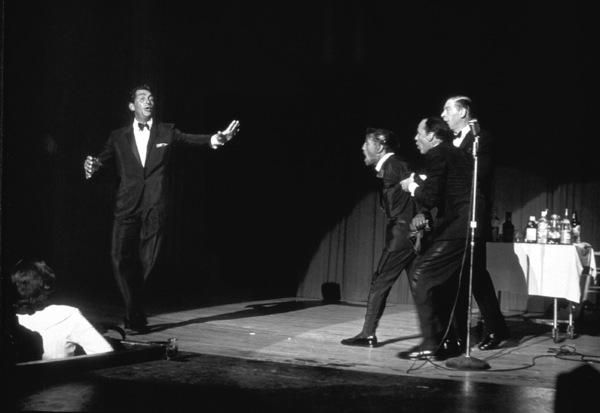 Frank Sinatra, Dean Martin, Sammy Davis Jr. and Milton Berle / c. 1964 © 1978 David Sutton - Image 0337_1262