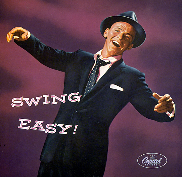 """Frank Sinatra""""Swing Easy"""" Album Cover, 1954.Photo by Sid Avery - Image 0337_1409"""