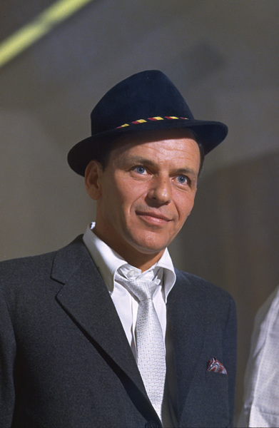 Frank Sinatra during a Capitol Records recording session 1959© 1978 Sid Avery - Image 0337_1472