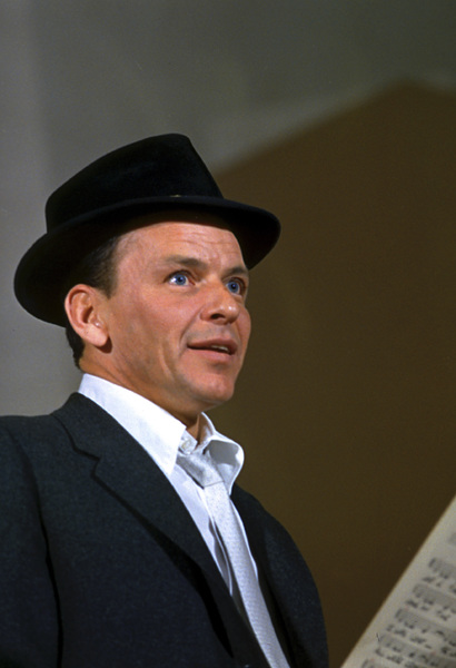 Frank Sinatra during a Capitol Records recording session 1959© 1978 Sid Avery - Image 0337_1488