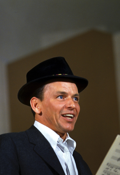 Frank Sinatra during a Capitol Records recording session 1959© 1978 Sid Avery - Image 0337_1489