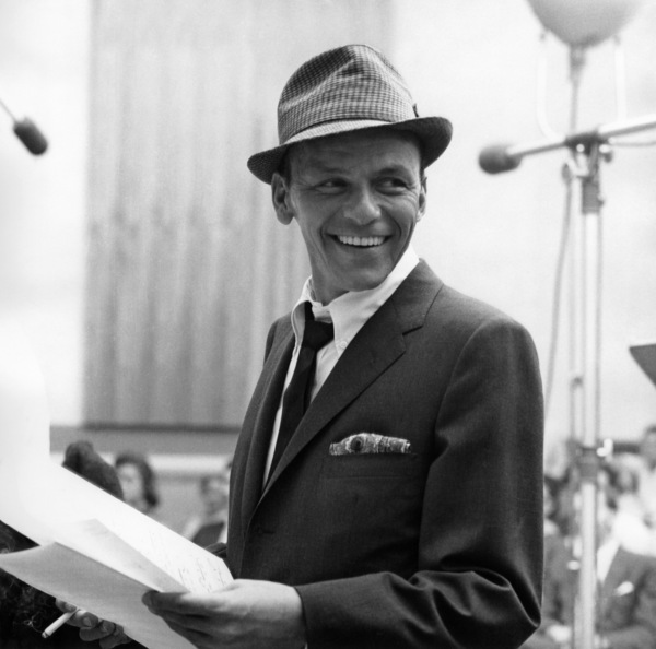 "Frank Sinatra Recording session ""Come Dance with Me"" at Capitol Records1959© 1978 Sid Avery - Image 0337_1501"