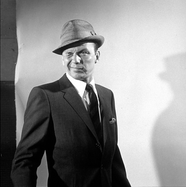 """Frank Sinatra 1959 Recording Session """"Come Dance With Me"""" Capitol Records / © 1978 Sid Avery - Image 0337_1502"""