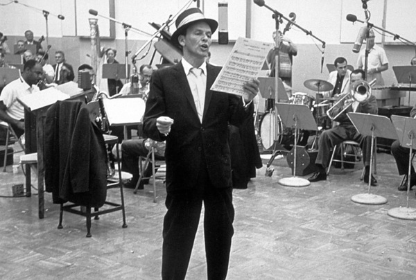 Frank Sinatra c. 1954 Recording Session Capitol Records / © 1978 Sid Avery - Image 0337_1507