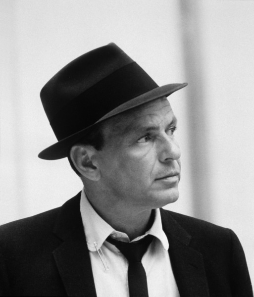 Frank Sinatra at a Capitol Records recording sessioncirca 1954 © 1978 Sid Avery - Image 0337_1513