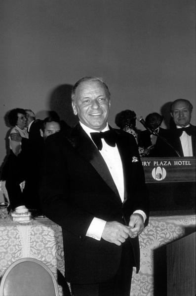 Frank Sinatra at Scopus Awards, 1976. © 1978 David Sutton - Image 0337_1607