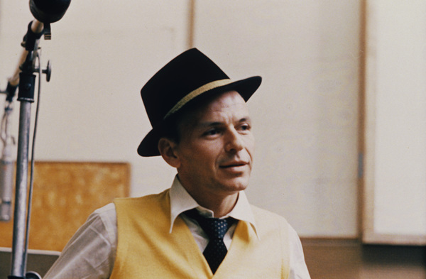 Frank Sinatra at a Capitol Records recording sessioncirca 1957 © 1978 Sid Avery - Image 0337_1733