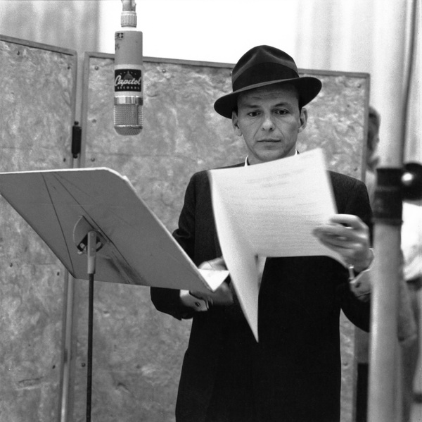 Frank Sinatra at a Capitol Records recording session1957 © 1978 Sid Avery - Image 0337_1944