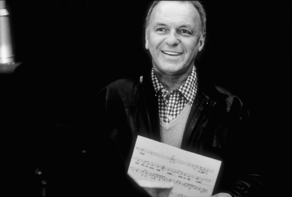 "Frank Sinatra at the Reprise recording session of ""Trilogy"" / 1979 © 1979 Ed Thrasher - Image 0337_2041"