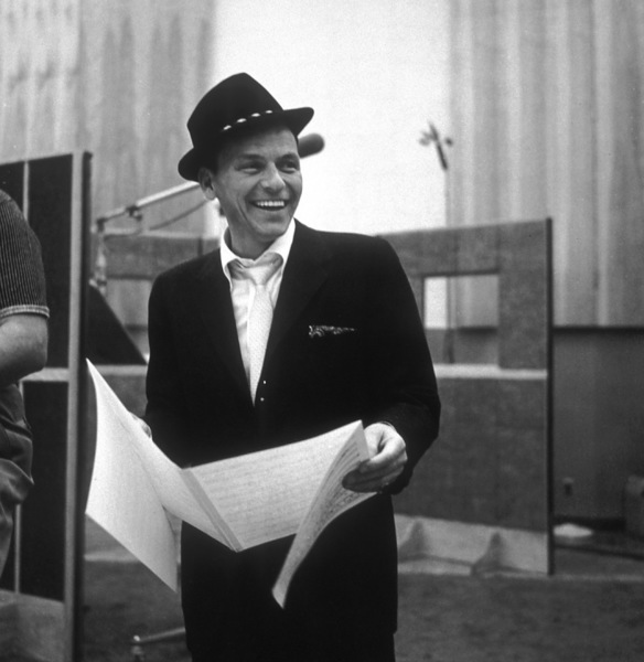 Frank Sinatra at a Capitol Records recording session 1959© 1978 Sid Avery - Image 0337_2177