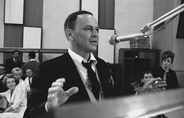 """Frank Sinatra""""September of My Years"""" Recording SessionApril (4) 1965 © 1978 Ed Thrasher - Image 0337_2374"""