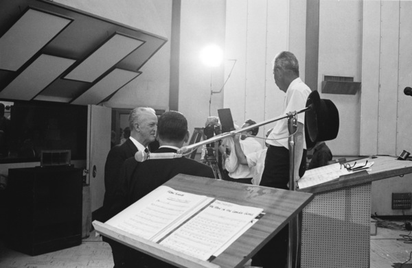 """Frank Sinatra""""September of My Years"""" Recording SessionApril (4) 1965 © 1978 Ed Thrasher - Image 0337_2376"""
