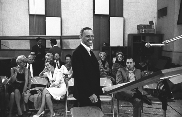 """Frank Sinatra""""September of My Years"""" Recording SessionApril (4) 1965 © 1978 Ed Thrasher - Image 0337_2382"""