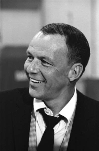 """Frank Sinatra""""September of My Years"""" Recording SessionApril (4) 1965 © 1978 Ed Thrasher - Image 0337_2385"""