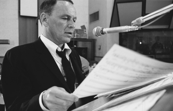 """Frank Sinatra""""September of My Years"""" Recording SessionApril (4) 1965 © 1978 Ed Thrasher - Image 0337_2390"""