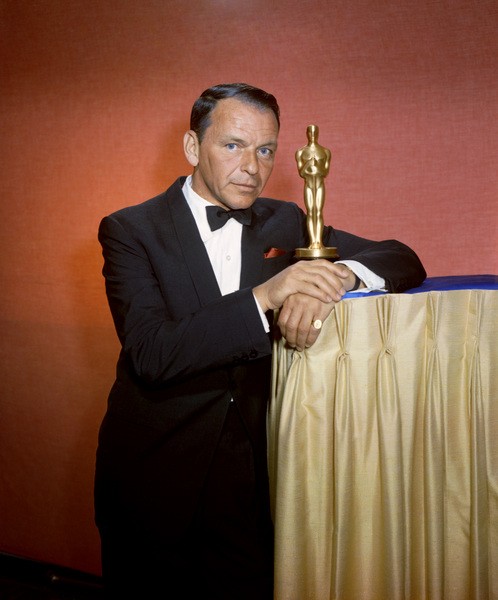 """Frank Sinatra hosting """"The 35th Annual Academy Awards"""" 1963 © 1978 Ted Allan  - Image 0337_2476"""