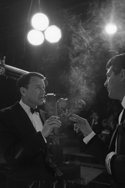"""The Judy Garland Show"" Dean Martin, Frank Sinatra 1962 © 1978 Bob Willoughby - Image 0337_2631"