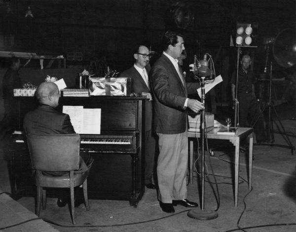 Jimmy Van Heusen, Sammy Cahn and Dean Martincirca 1950s** A.H. - Image 0337_2866