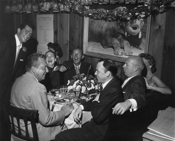 Frank Sinatra with Dean Martin, Kathryn Grant, Bing Crosby, Phil Harris, and Jimmy Van Heusencirca 1950s** A.H. - Image 0337_2877
