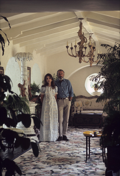Henry Fonda at home with his wife Shirlee1969 © 1978 Gene Trindl - Image 0518_0829