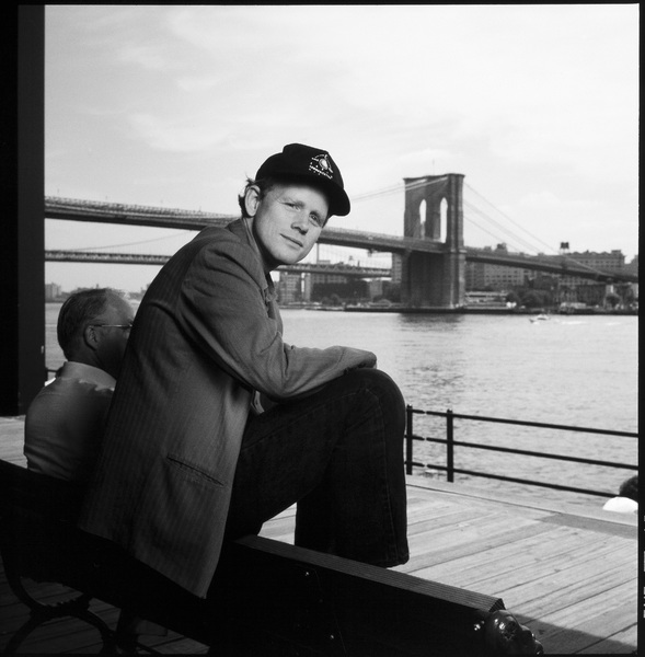 Ron Howard photographed at the South Street Seaport in New York1993© 1993 Ken Shung - Image 0531_0055