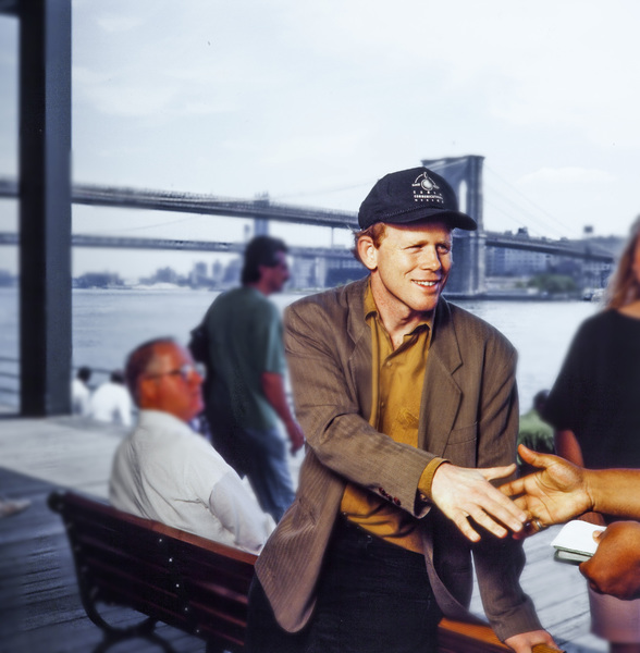 Ron Howard photographed at the South Street Seaport in New York1993© 1993 Ken Shung - Image 0531_0057