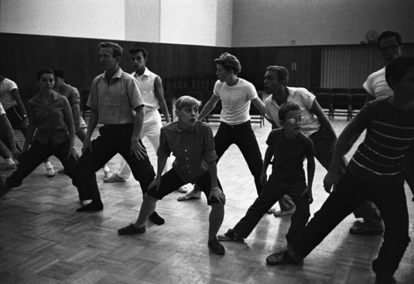 """Sondra Lee during rehearsals for """"Peter Pan""""1954© 1978 Bob Willoughby - Image 0549_0089"""
