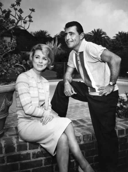 Rod Serling and Inger Stevens at Serling