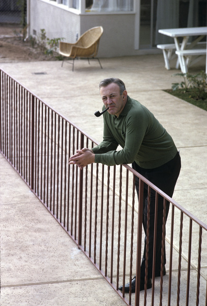 Lee J. Cobb at home1963 © 1978 Gene Trindl - Image 0592_0039