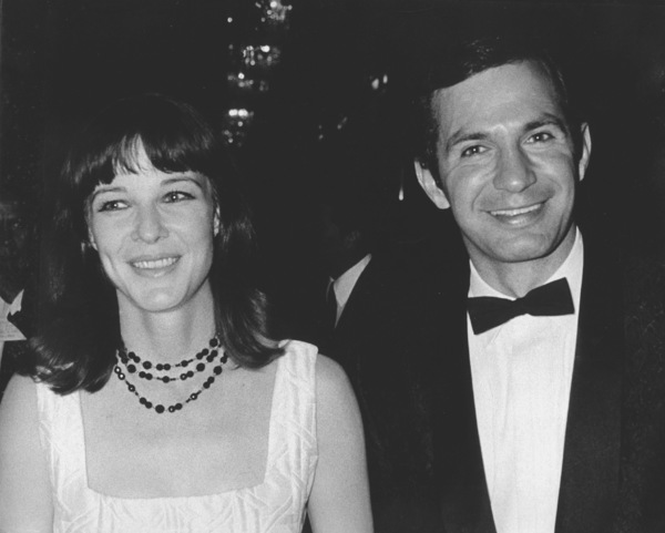 Ben Gazzara with wife Janice Rule at Bobby Darin